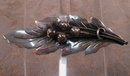 Damaso Gallegos STERLING Leaf PIN Taxco MEXICO-