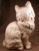 HUBLEY PERSIAN Cat IRON Doorstop ORIGINAL Paint