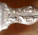 WHITING Lily TEAspoon (2) 5 o'clock -STERLING -