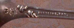 KNOWLES Sterling PIERCED Scoop - ARGO Pattern -