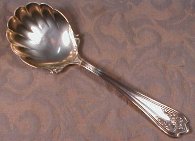 Saart BLOSSOM Sterling SILVER Berry Spoon SSMC-
