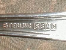 Saart BLOSSOM Sterling SILVER Berry Spoon SSMC-