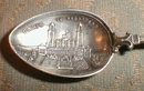 PARIS Souvenir SPOON Germany Silver ENAMEL -
