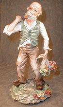 MOLLICA Capodimonte SIGNED Figurine - LARGE -