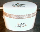 Royal WORCESTER Trinket BOXES -2- Covered JARS-