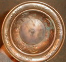 Communion CHALICE Chased Base -ANTIQUE-