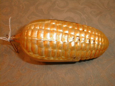 CORN Christmas ORNAMENT - ANTIQUE -