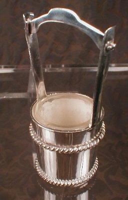 Sterling WISHING Well SALT Cellar PEPPER Shaker