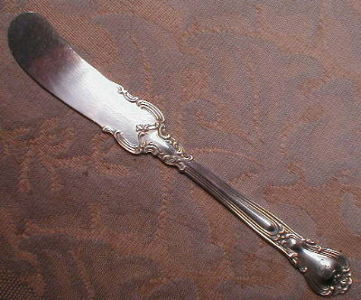Gorham CHANTILLY Sterling BUTTER Spreader