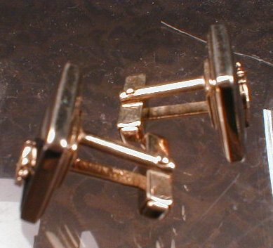 SHRINERS Cufflinks GOLD Filled PAIR - VINTAGE -