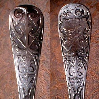 Sheraton STERLING Spoon -Mt Vernon  Silver-