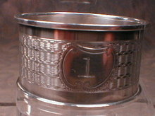 SHEFFIELD Sterling NAPKIN Ring -ANTIQUE-