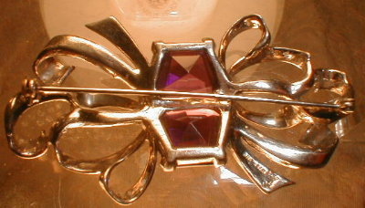 BOUCHER Sterling PIN Vintage -Signed MB -