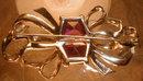BOUCHER Sterling PIN Vintage -Signed MB -