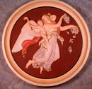 Peter IPSEN Plaque CLASSICAL Painted -DENMARK -