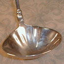 SILVERplate PUNCH Ladle BAROQUE Style -LARGE-