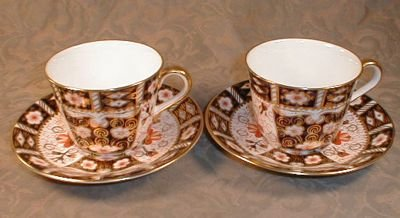 IMARi Royal CROWN Derby Cup Saucer -SET of 4 -