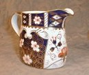 IMARI Royal CROWN Derby Creamer & Sugar -SET-