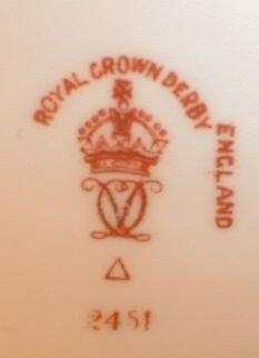 IMARI Royal CROWN Derby LARGE Creamer & Sugar -