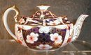 IMARI Royal CROWN Derby TEApot - 1930s -