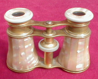 Opera GLASSES French MOTHER of Pearl -ANTIQUE-