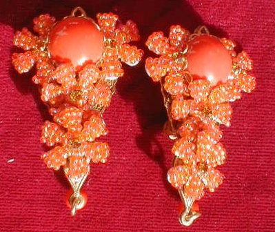STANLEY Hagler N.Y.C. Necklace EARRING Set - HUGE -