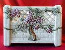 WELLER Roma ROSE Arbor JARDINIER - Antique -