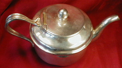 US Navy OFFICERS Mess TEAPOT Reed & Barton