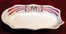 Maxims PARIS Cigar ASHtray - FRENCH Porcelain -