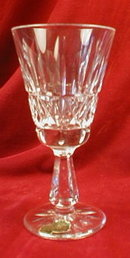 WATERford KYLEmore WHITE Wine STEMMED Glass -