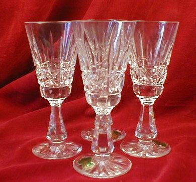 WATERford KYLEmore SHERRY Crystal Glasses -4-