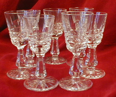 WATERFORD Kylemore CORDIAL Glasses -7-