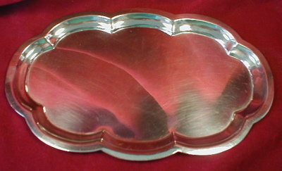Poole STERLING Silver TRAY - Vintage -