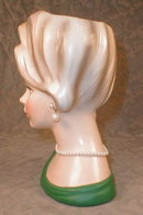 NAPCOware HEAD Vase C7294 - Earrings -
