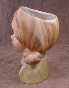 Teen HEAD Vase INARCO E6211 with BOW -