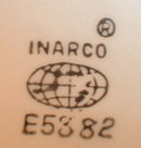 Head VASE Colonial TEEN Inarco E5882 -Earrings-