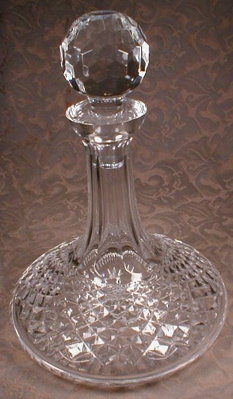 Waterford ALANA Ships DECANTER - Vintage -