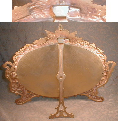ORNATE Cherub Frame NB & IW - ANTIQUE -