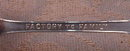 LARKIN Souvenir SPOON Buffalo - ANTIQUE -