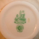 Belleek LOTUS Vase - 3rd GREEN Mark -