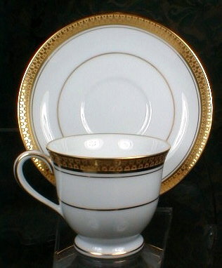 Noritake GOLDRIDGE Cups & Saucers -6-