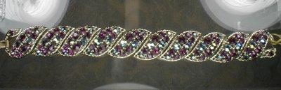 LISNER Aurora BOREALIS Bracelet - VINTAGE -