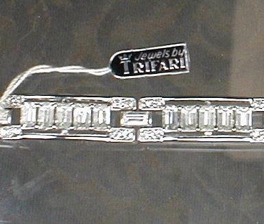 TRIFARI Rhinestone BRACELET -Original Hang Tag-