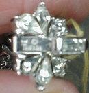 TRIFARI Rhinestone BRACELET - Snowflakes -