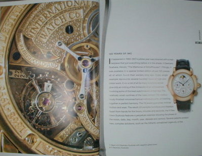 Luxury WATCH Catalogs - ROLEX Omega LeCOULTRE -