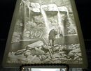 PPM LithoPHANE Panel BASTION Falls - ANTIQUE -