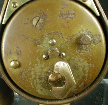 SEMCA Teardrop Alarm Clock Swiss - 7 Jewels -