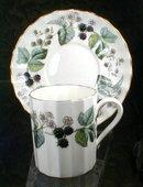Royal Worcester Lavinia cup saucer -Demitasse -
