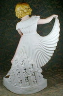 Sitzendorf Dancer Pleated Skirt - Germany -