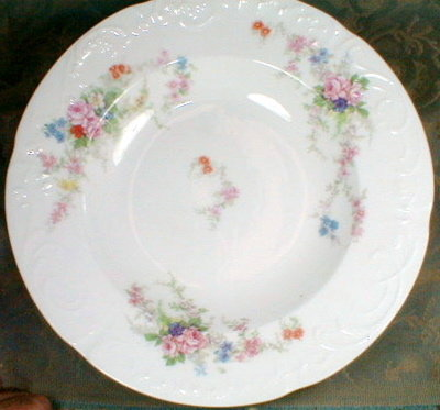 Limoges SOUP Plates (4) Bernardaud D&C Antique-